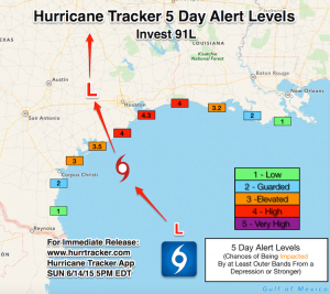 Texas Flooding Possible