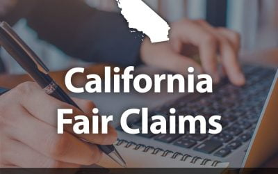 California Fair Claims Training