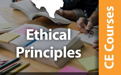 Ethical Principles (2 CE Hrs)