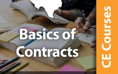 Basics of Contracts (1 CE Hr)