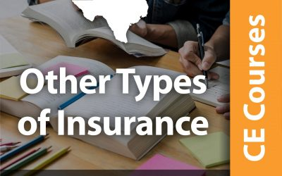 Other Types of Insurance – Farm, Crop, Flood, etc. (8 CE Hrs)